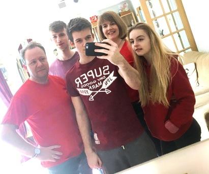 vEDS selfie
