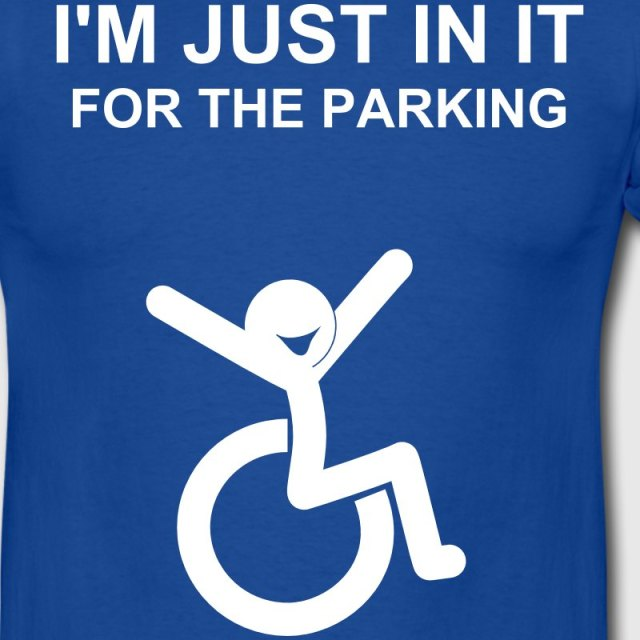 just-in-it-for-the-disabled-parking-t-shirt-men-s-t-shirt