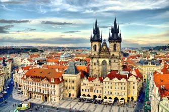 Historic Prague from TripSavvy website