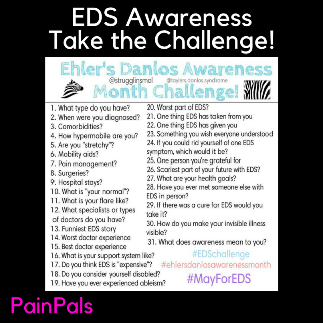EDS AwarenessTake the Challenge! (1)