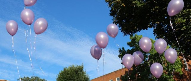 Mauve balloons