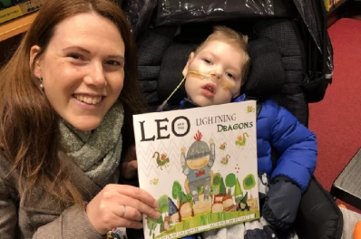 Leo and Mum